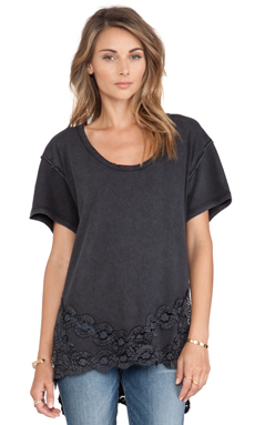 Free People The Stone Tee in Black