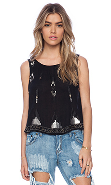 Free People Bad Girls Do It Well Tank in Black