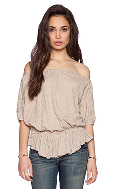 Free People Shades of Cool Top in Chai
