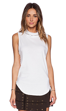 Free People 90210 Muscle Tee in Ivory