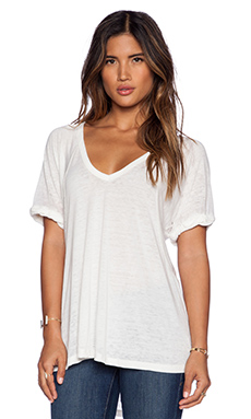 Free People Free Fallin Tee in White