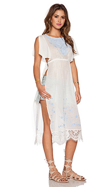Free People Sugar Brunch Tunic in Ivory