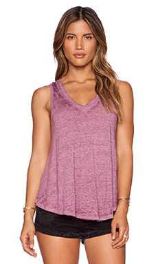 Free People Breezy Tank in Wild Violet