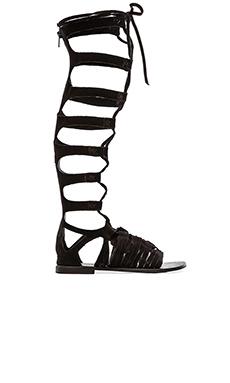 Free People Cypress Tall Sandal in Black