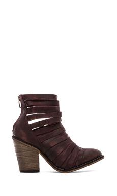Free People Hybrid Heel Boot in Cordovan