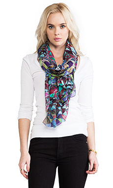 FRONT ROW SOCIETY Scarf in African Tribe