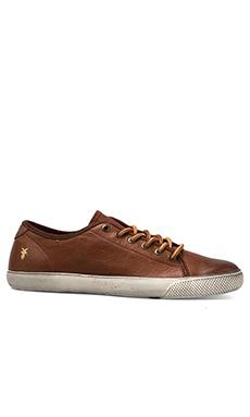 Frye Chambers Lo Sneaker in Cognac