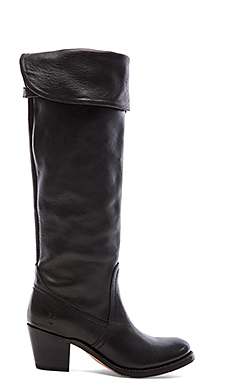 Frye Jane Tall Cuff in Black