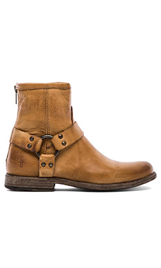 Frye Phillip Harness Boot in Camel