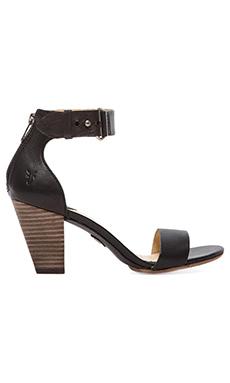 Frye Skye Belt Sandal in Black