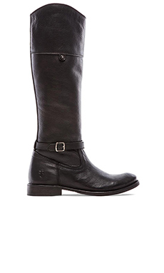 Frye Shirley Rivet Tall Boot in Black
