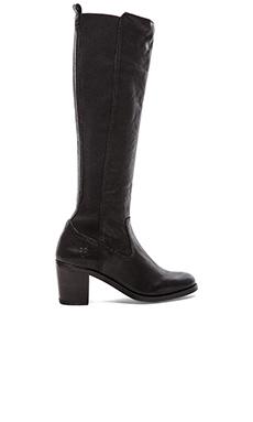 Frye Janis Gore Tall Boot in Black