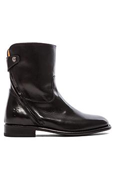 Frye Abigail Zip Short Boot in Black