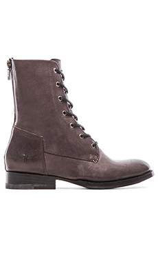 Frye Jamie Artisan Lace Boot in Charcoal
