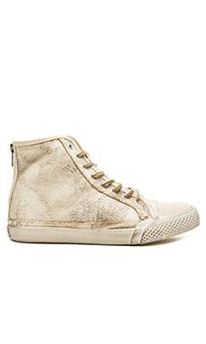 Frye Greene High Top Sneaker in White