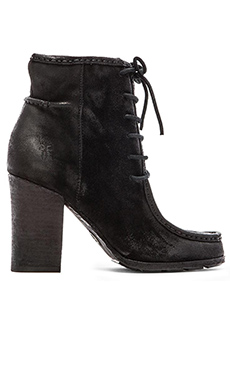 Frye Parker Moc Short Bootie in Black