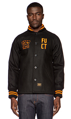 Fuct SSDD HDS Pharaoh Jacket in Black
