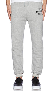 Fuct SSDD Sweatpants in Heather Grey