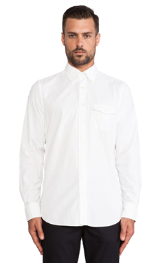 Gant Tinted Oxford Shirt in White