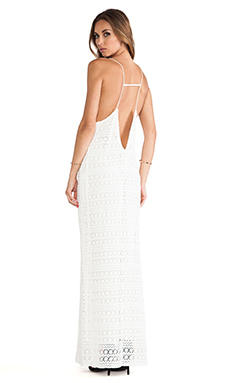 GAT RIMON Oro Dress in Blanc