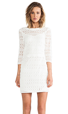GAT RIMON Toko Dress in Blanc