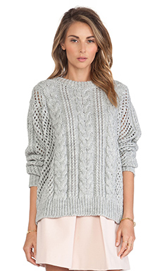GAT RIMON Maiti Sweater in Gris Chine