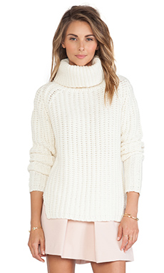 GAT RIMON Rachel Sweater in Ecru