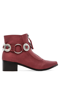 GREY CITY Warren Bootie in Wineberry