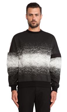 General Idea Space Dye T-Shirt in Black