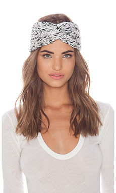 Genie by Eugenia Kim Britt Headband in White & Black Multi