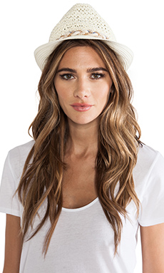 Genie by Eugenia Kim Fedora Hat in Ivory