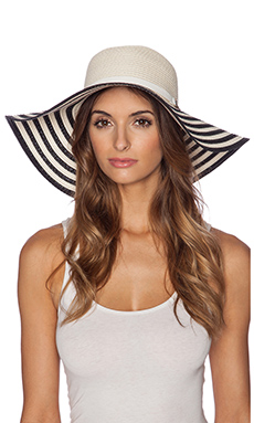 Genie by Eugenia Kim Cecily Hat in Black & White