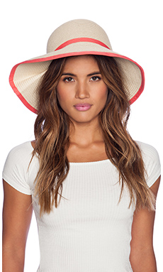 Genie by Eugenia Kim Franny Hat in Natural & Pink