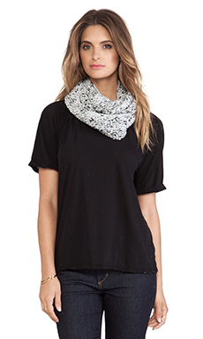 Genie by Eugenia Kim Bonnie Scarf in White & Black Multi