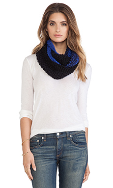 Genie by Eugenia Kim Dakota Scarf in Cobalt & Navy