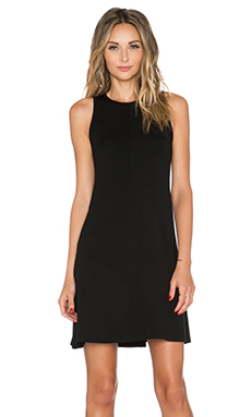 GETTINGBACKTOSQUAREONE Wynwood Dress in Black