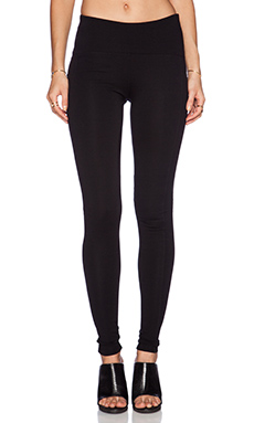 GETTINGBACKTOSQUAREONE Iconic Legging in Black