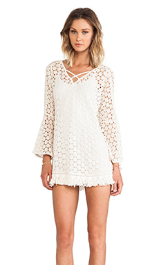 Gypsy Junkies Mimi Tunic in Cream