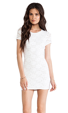 Generation Love Tina Lace Dress in White