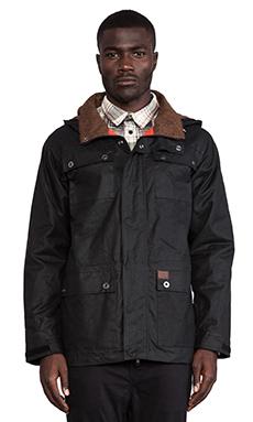 Globe Drizabone Jacket II in Black