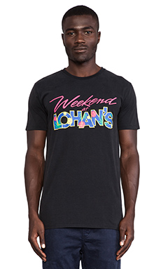 Globe Lohans Tee in Acid Black
