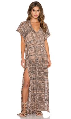 Goddis Alisha Caftan Dress in Casablanca