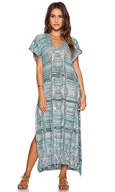 Goddis Alisha Maxi Dress in Grecian Sky