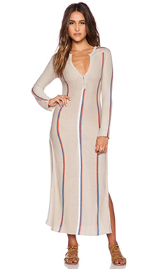 Goddis Andi Maxi Dress in Coral Essence