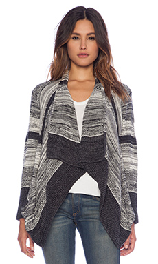 Goddis Boca Cardigan in Overnight