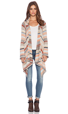 Goddis Leona Cardigan in Riverbank