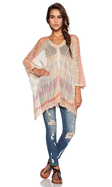 Goddis Eliza Poncho in Honey Spice