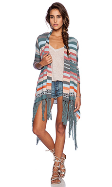 Goddis Fern Cardigan in Coral Springs
