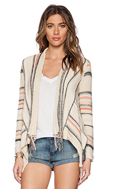 Goddis Biya Cardigan in Golden Haze