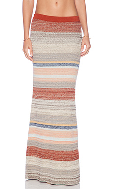 Goddis Farrow Maxi Skirt in River Bank